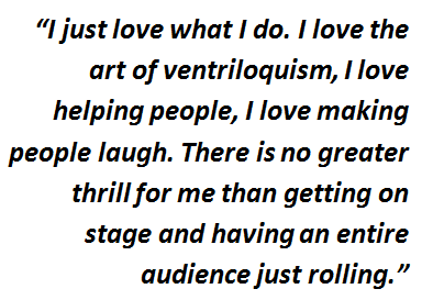 Ventriloquist quote