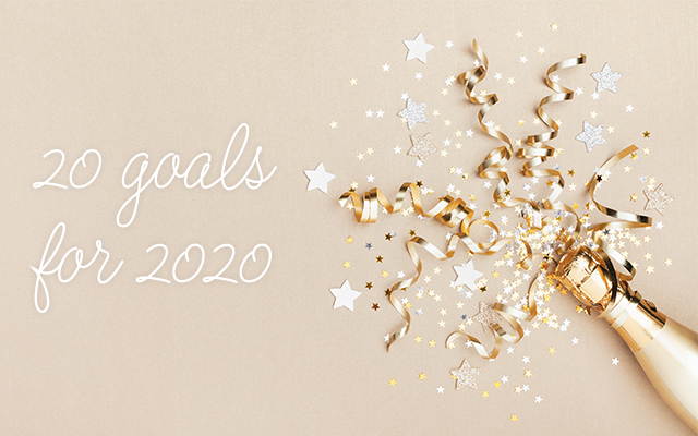 2020 Goals in 2020 | The Bash