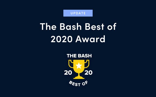 Best of 2020 Award Announcement