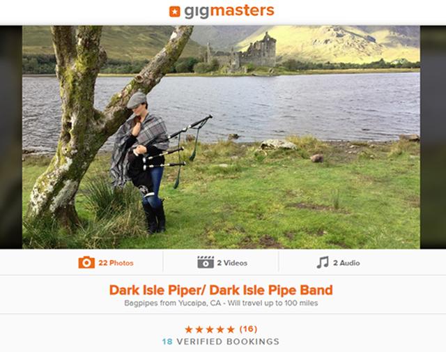 Dark Isle Piper