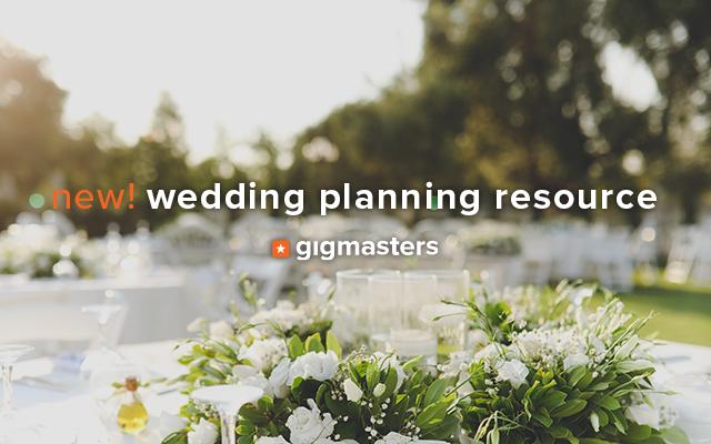 GigMasters Wedding Planning Resource