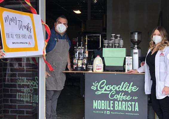 The Mobile Barista