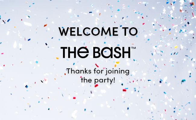 Welcome to The Bash!