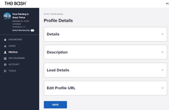 The Bash Profile Details