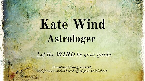 Kate Wind Astrologer